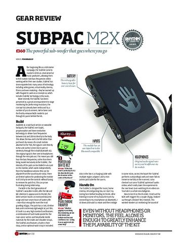 Rhythm Subpac M2X