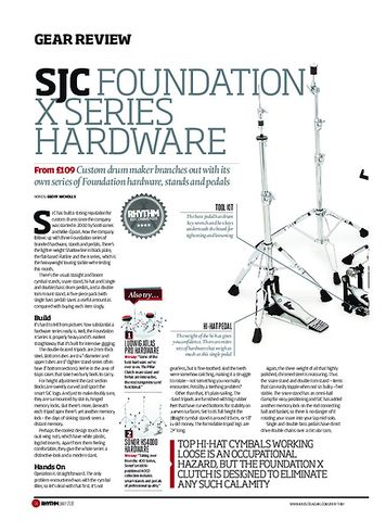 Rhythm SJC Foundation X Series Hardware