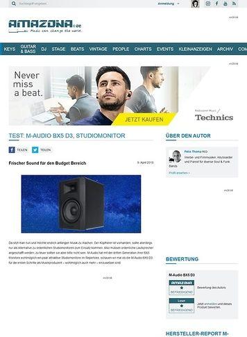 Amazona.de M-Audio BX5 D3