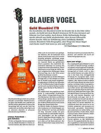 Gitarre & Bass Guild Bluesbird ITB