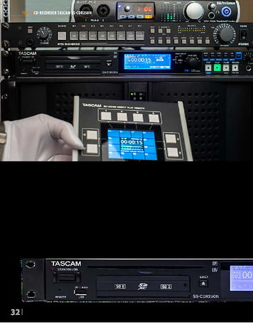 Professional Audio Tascam SS-CDR250N