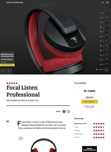 Kopfhoerer.de Focal Listen Professional