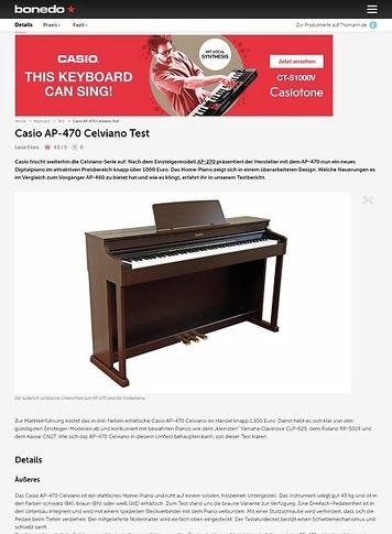 Bonedo.de Casio AP-470 Celviano