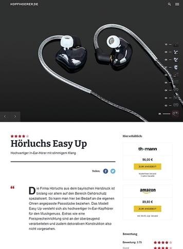 Kopfhoerer.de Hörluchs EasyUp