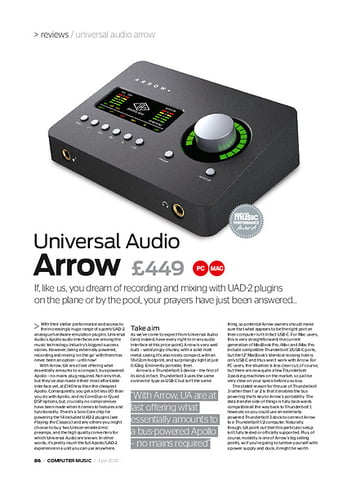 Universal Audio Arrow – Thomann UK