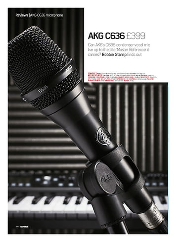 Future Music AKG C636