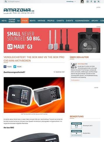 Amazona.de the box MA 5, the box pro CX 5