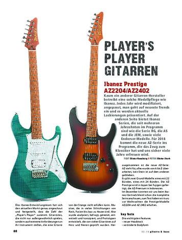Gitarre & Bass Ibanez Prestige AZ2204/AZ2402