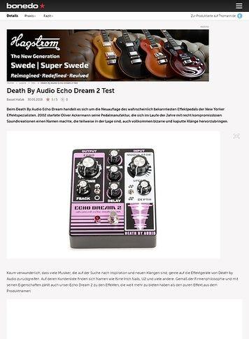 Bonedo.de Death By Audio Echo Dream 2