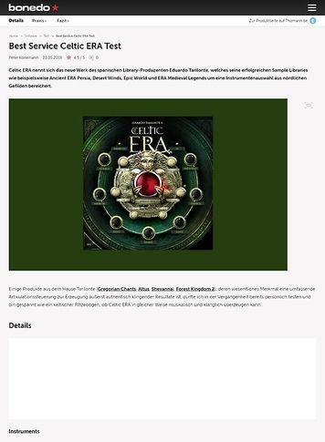 Bonedo.de Best Service Celtic ERA
