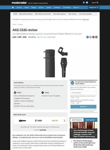 MusicRadar.com AKG C636