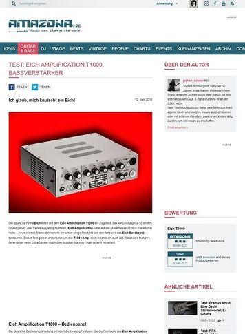 Amazona.de Eich Amplification T1000