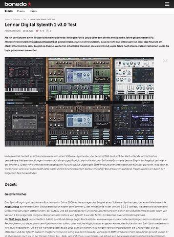 Bonedo.de Lennar Digital Sylenth 1 v3.0