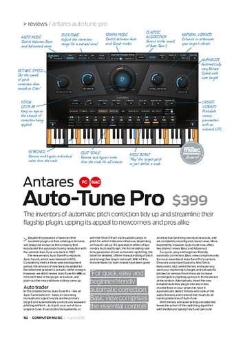 Antares Auto-Tune Pro – Thomann UK