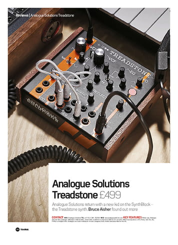 Future Music Analogue Solutions Treadstone