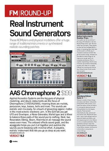 Future Music AAS Chromaphone 2
