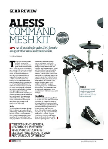 Rhythm Alesis Command Mesh Kit