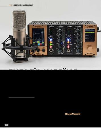Professional Audio Fredenstein Module