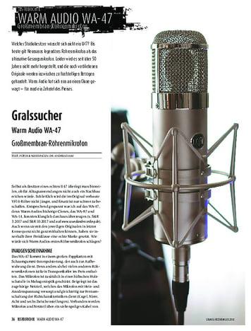 Sound & Recording Warm Audio WA-47