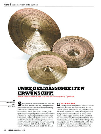 Sticks Sabian Artisan Elite