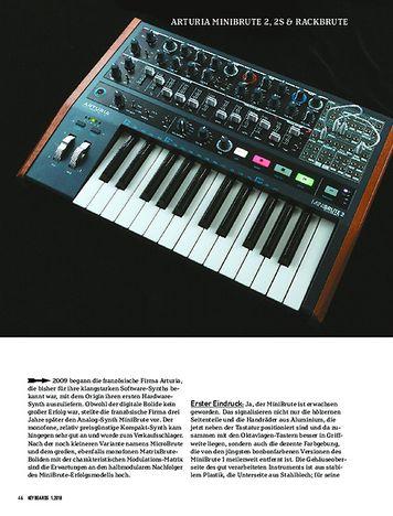 Keyboards ARTURIA MINIBRUTE 2, 2S & RACKBRUTE