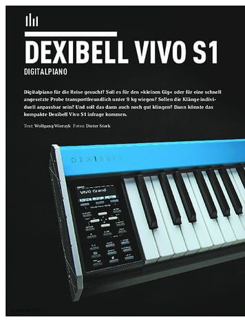 Keyboards DEXIBELL VIVO S1