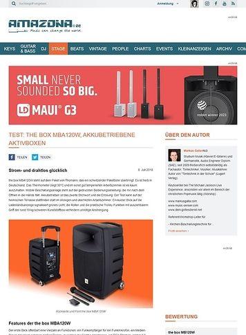 Amazona.de the box MBA120W
