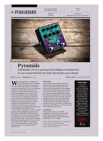 Guitarist Earthquaker Devices Pyramids