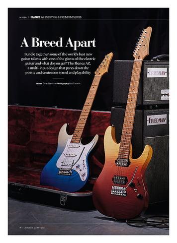 Guitarist Ibanez Prestige AZ2204-ICM
