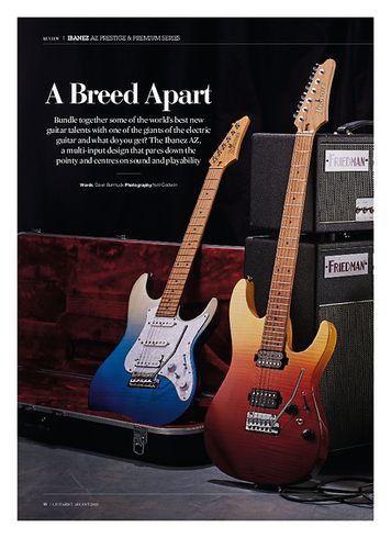 Guitarist Ibanez Premium AZ242F-TSG