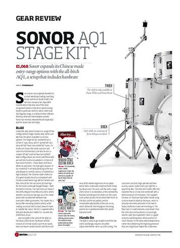 Rhythm Sonor AQ1 Stage Kit