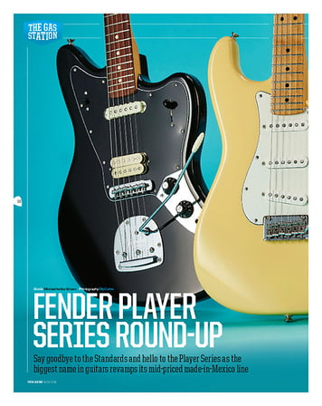 Total Guitar Fender Player Jaguar