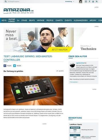Amazona.de Lab4Music Sipario