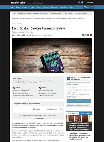 MusicRadar.com EarthQuaker Devices Pyramids