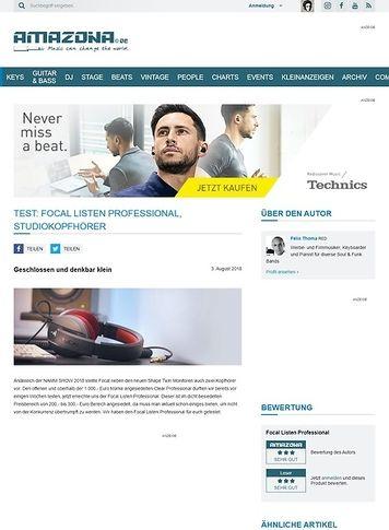 Amazona.de Focal Listen Professional
