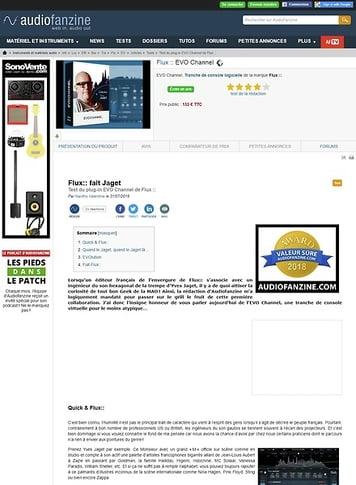 Audiofanzine.com Flux :: EVO Channel