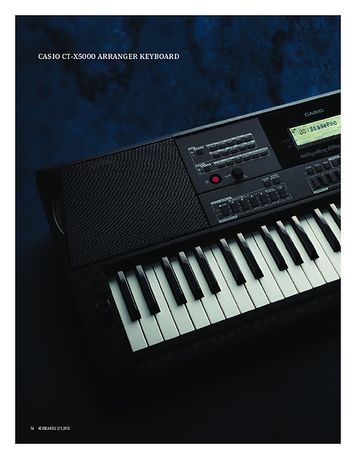 Keyboards CASIO CT-X5000