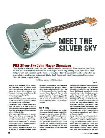 Gitarre & Bass PRS Silver Sky John Mayer Signature