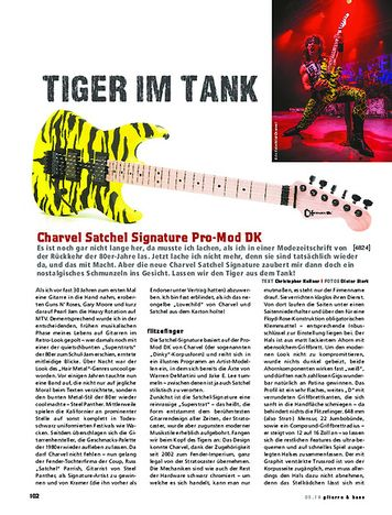 Gitarre & Bass Charvel Satchel Signature Pro-Mod DK