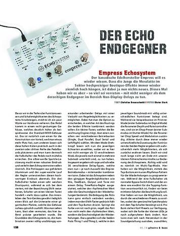 Gitarre & Bass Empress Effects Echosystem