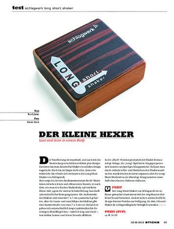 Sticks Schlagwerk Long Short Shaker
