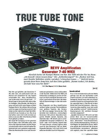 Gitarre & Bass REVV Amplification Generator 7-40 MKII