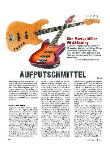 Gitarre & Bass Sire Marcus Miller V9 4&5string