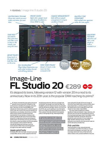 Computer Music Image-Line FL studio 20