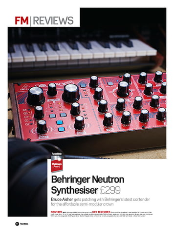 Future Music Behringer Neutron Synthesiser