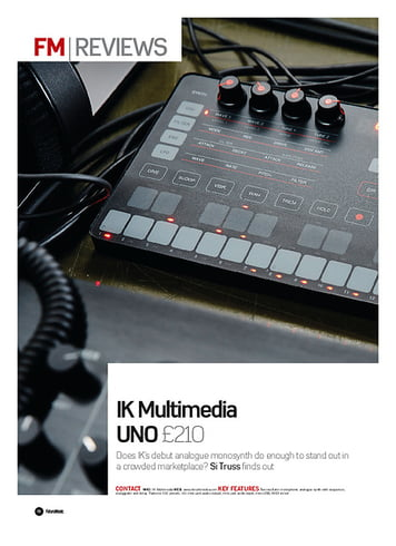 Future Music IK Multimedia UNO