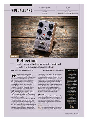 Guitarist Wampler Reflection