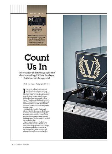 Guitarist Victory V30 'The Countess' Mark II