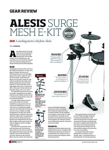Rhythm Alesis Surge Mesh E-Kit
