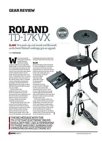 Rhythm Roland TD-17KVX